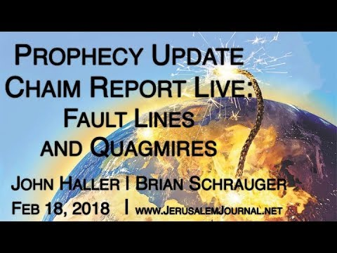 "2018 02 18 John Haller and Brian Schrauger ""The Chaim Report LIVE:  Faultlines and Quagmires"""