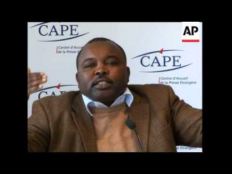 Intv with exiled leader of Sudan Liberation Movement