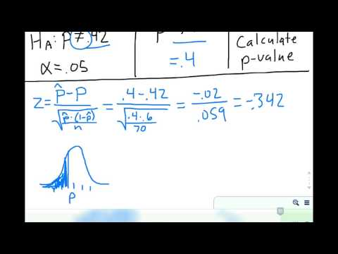 Calculate P Value How To Calculate