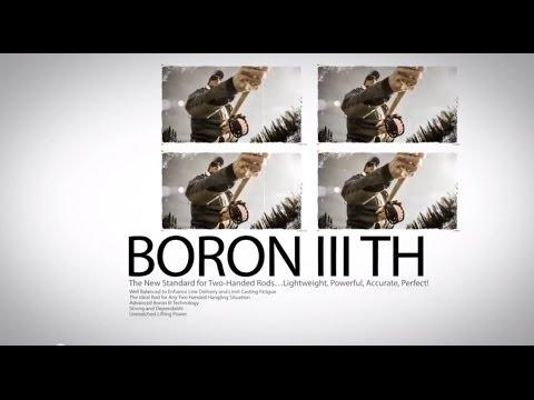 BORON III TH Fly Rod Series