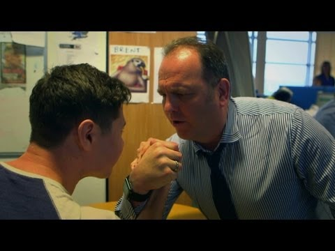 Download Nev's Arm Wrestle Challenge  - The Call Centre - Episode 3 - BBC Three