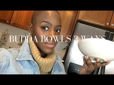 Buddha Bowl 3 Ways | How To Make A Buddha Bowl | Stacey Flowers