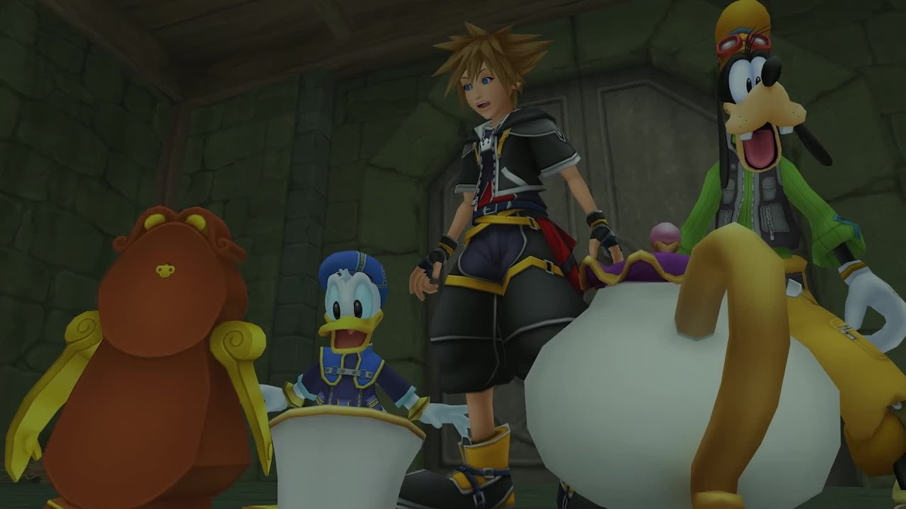 KINGDOM HEARTS HD 1.5 + 2.5 ReMIX — Familiar Faces and Places [UK]