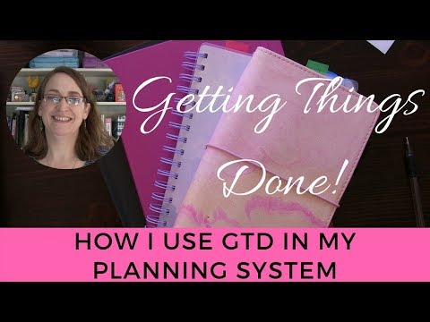 GTD Planner System - How I Use GTD in My Planning System