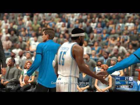 NBA 2K17 Kariera PL s2 odc. 11- Paul Millsap w 76ers? I jeszcze ta pierwsza kwarta...