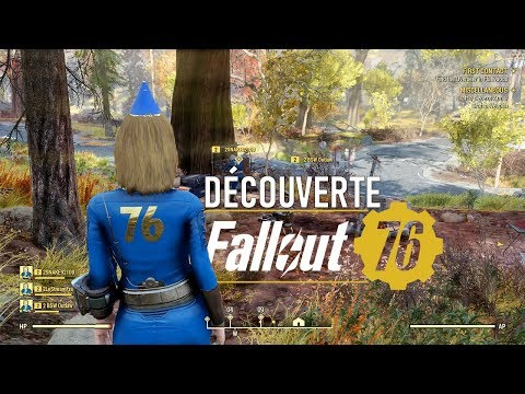 FALLOUT 76: Gameplay découverte exclusif! thumbnail