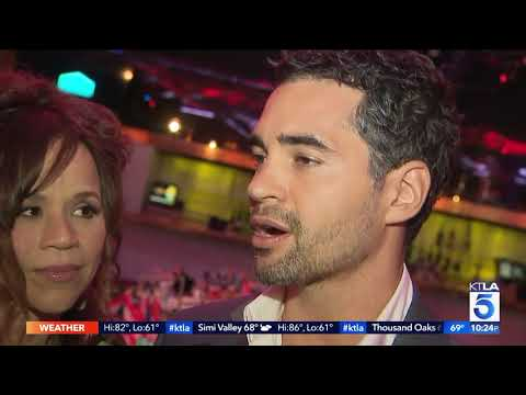 Rosie Perez and Ramon Rodriguez help raise money for Puerto Rico