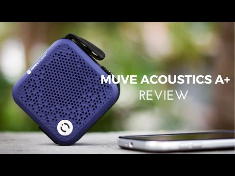 Muve Acoustics A+ Bluetooth Speaker Review - Overpriced?!?