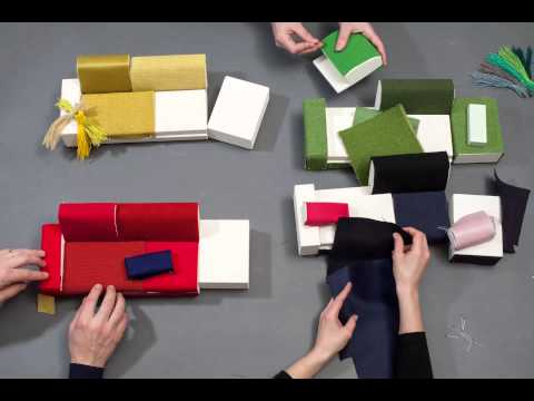 Vitra | Polder sofa fabrics workshop