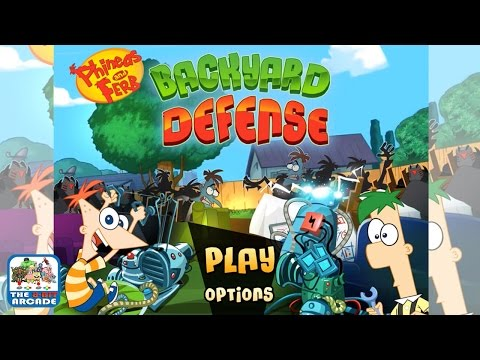 Phineas And Ferb: Backyard Defense - Under Attack From Zombies (Disney LOL Games)