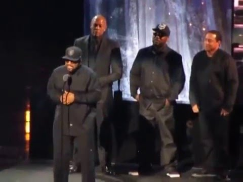 2016 Rock & Roll Hall of Fame NWA's Complete Induction Speech pt. 2(Ren, Cube)