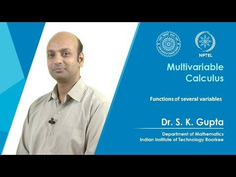 NPTEL :: Mathematics - NOC:Multivariable Calculus