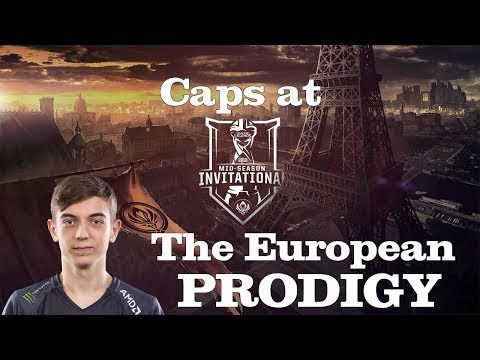 Best of Caps at MSI - The European Prodigy!