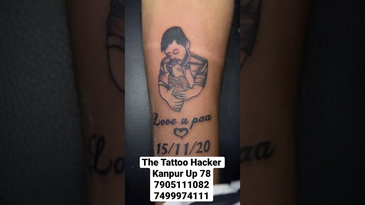 Tattoo hacker Bob ross