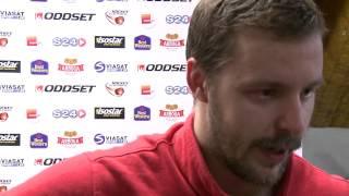 Intervju med Marcus Eriksson efter matchen mot Oskarshamn