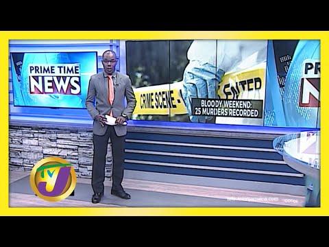 Bloody Weekend in Jamaica   TVJ News