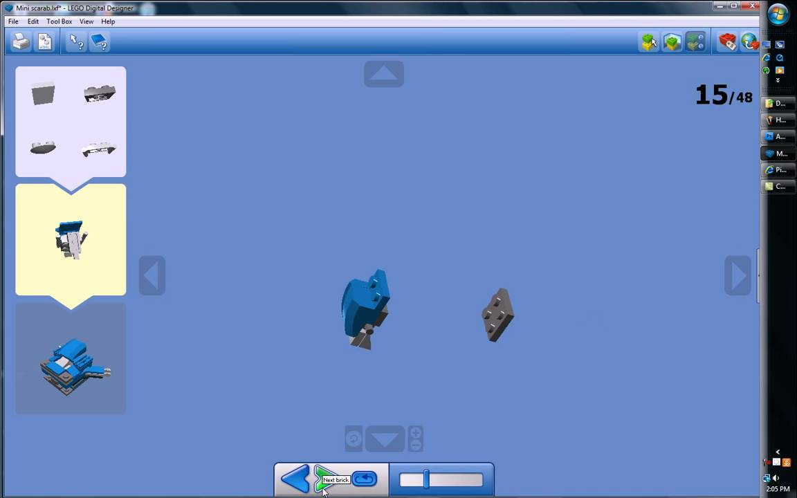 Image Result For How To Build A Lego Halo Mini Scarab