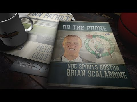 Brian Scalabrine On Celtics Playoff Run & more w Dan Patrick | Full Interview | 5/16/18