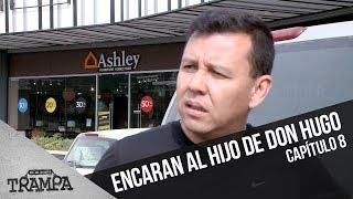 Macarena le pide explicaciones al hijo de Don Hugo  | En su Propia Trampa | Temporada 2017
