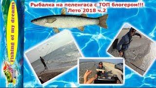Рыбалка на пеленгаса с ТОП БЛОГЕРОМ!!!Лето 2018 ч.2-я