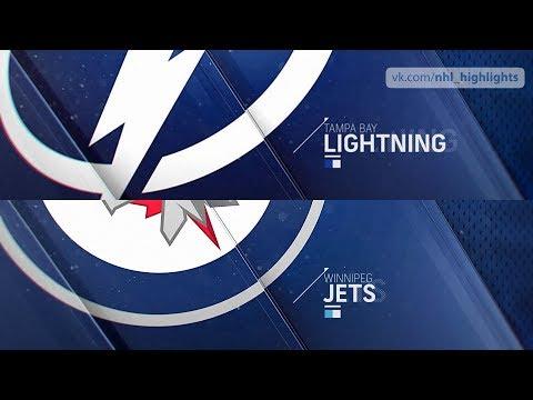 Tampa Bay Lightning Vs Winnipeg Jets Jan 17, 2020 HIGHLIGHTS HD