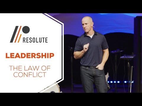 Leadership   The Law Of Conflict
