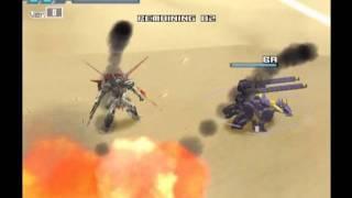Gundam Battle Assault 3 | Mission Mode 7 | Desert