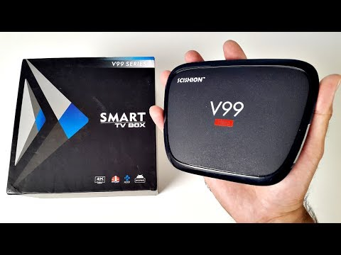 2017 Scishion V99 HERO 4K Android TV Box - Octa-Core, 4GB RAM, 32GB ROM