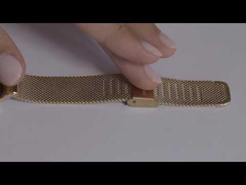 Comment ajuster votre bracelet de montre métal mesh (mailles milanaises)