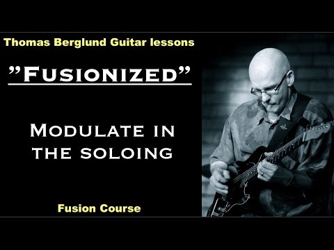 """Fusionized """"Soloing between two major keys"""" - Fusion Guitar lesson"""