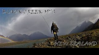 Fly Fishing New Zealand Alpine Solo