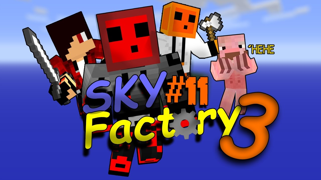 Minecraft Skyfactory 3#11 - Fixed The Lag