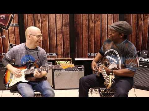 """OZ NOY & Darryl Jones plays their signature """"VEMURAM"""" 2017 NAMM"""
