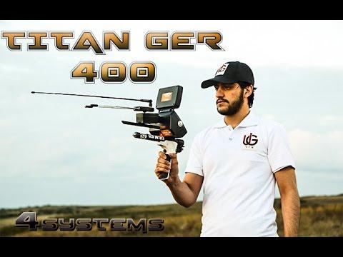 Titan Ger 400 - (4 Sistem 1 Cihazda) Altın, Define ve Boşluk Dedektörü