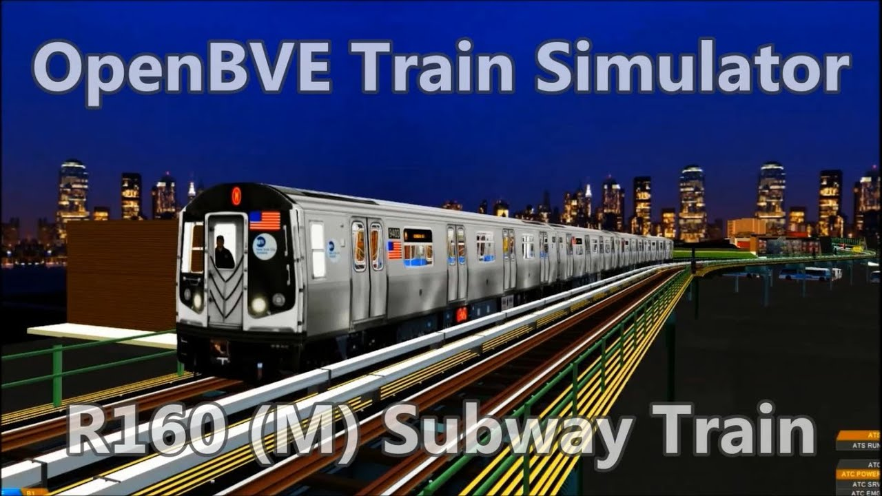 Trains and routes for OpenBVE