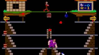 Popeye (revision D) - Popeye gameplay 60 fps - User video