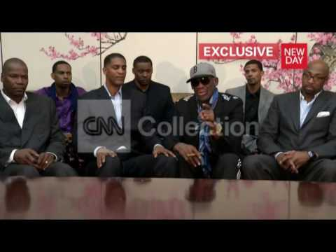 DENNIS RODMAN LASHES OUT-TAKE THE ABUSE