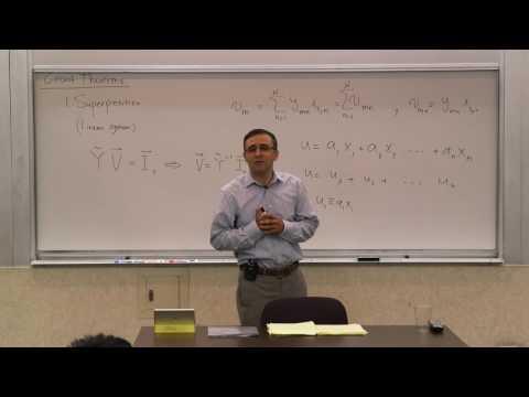 008. Circuit Theorems: Superposition, Thévenin, Norton, Source Transformation, Network Equivalence