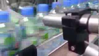 Date Coder onto PET bottles for drinking water by Linx CIJ inkjet printer Thumbnail