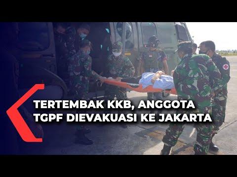 Anggota TGPF Yang Tertembak KKB Dievakuasi Ke Jakarta
