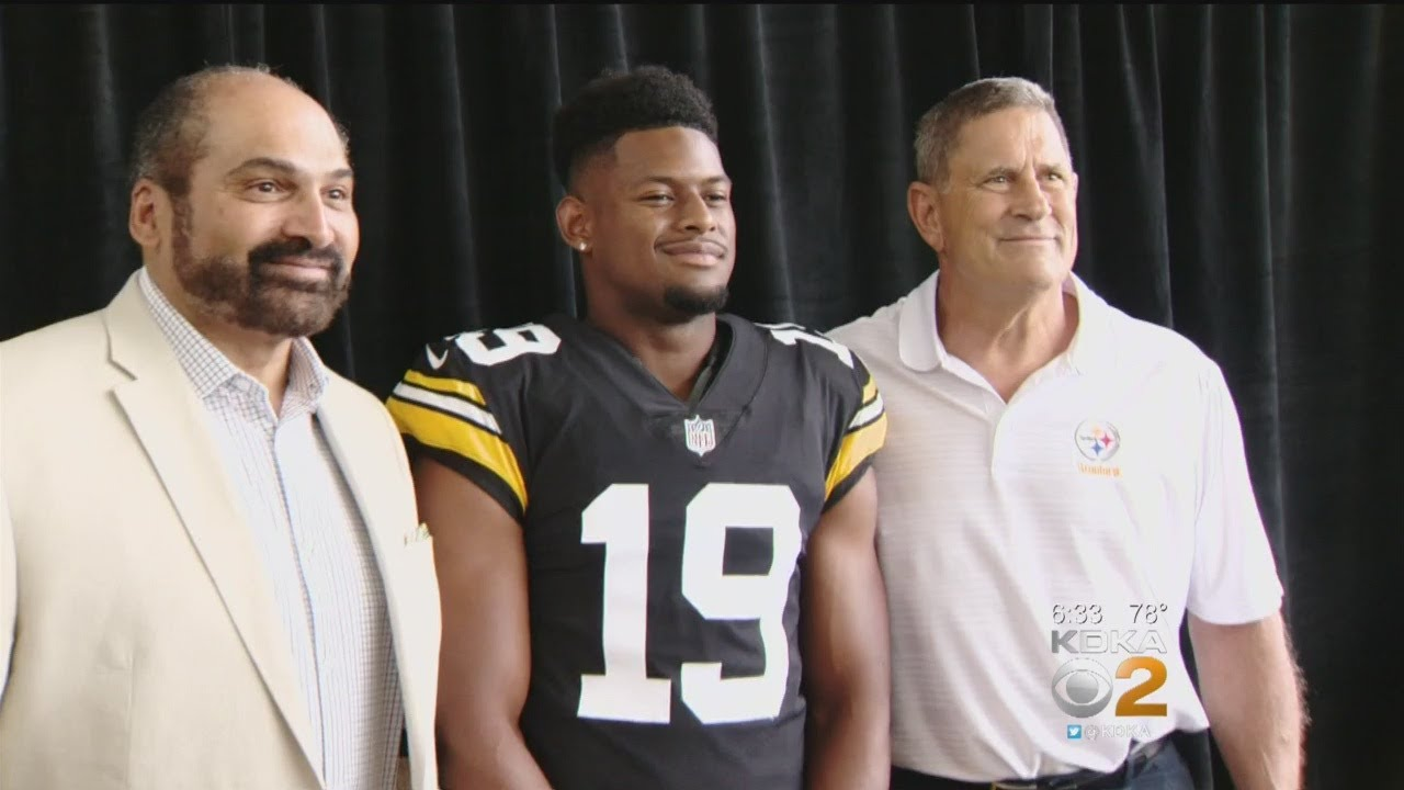 dc703c906 Steelers Unveil New Throwback Uniforms - YouTube