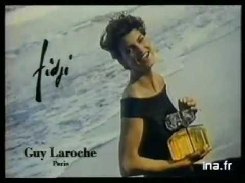 Pub GUY LAROCHE Parfum Fidji avec Linda Evangelist...
