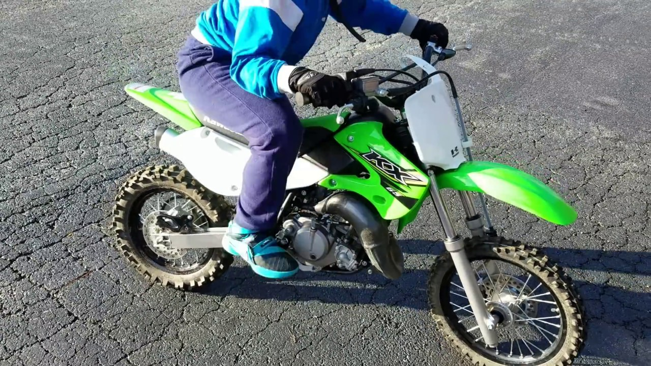 Top speed runs on the 2017 kawasaki kx65( With Nathan and Lover boy ...
