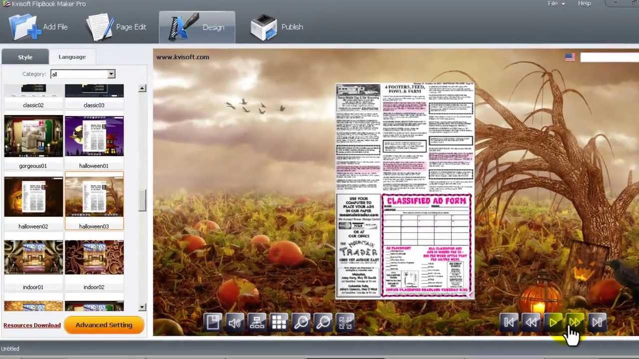 how to create an e brochure