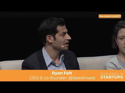 SeedInvest CEO Ryan Feit on advice for non-accredited investors: put 5% savings in VC & diversify