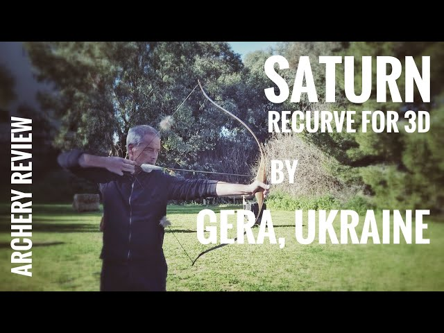 Saturn - short Recurve for 3D by Gera Bows - Archery Review