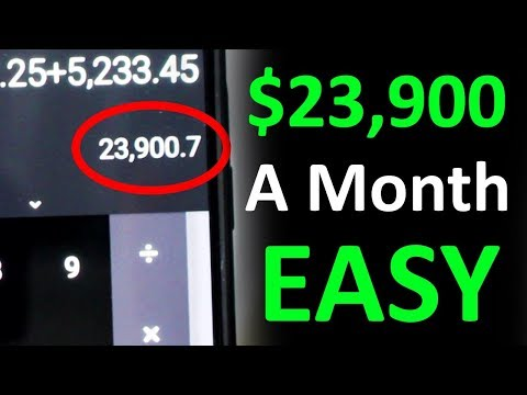 How I Made $23,900 In 1 Month On YouTube Without Making Videos - Easiest Way To Make Money Online