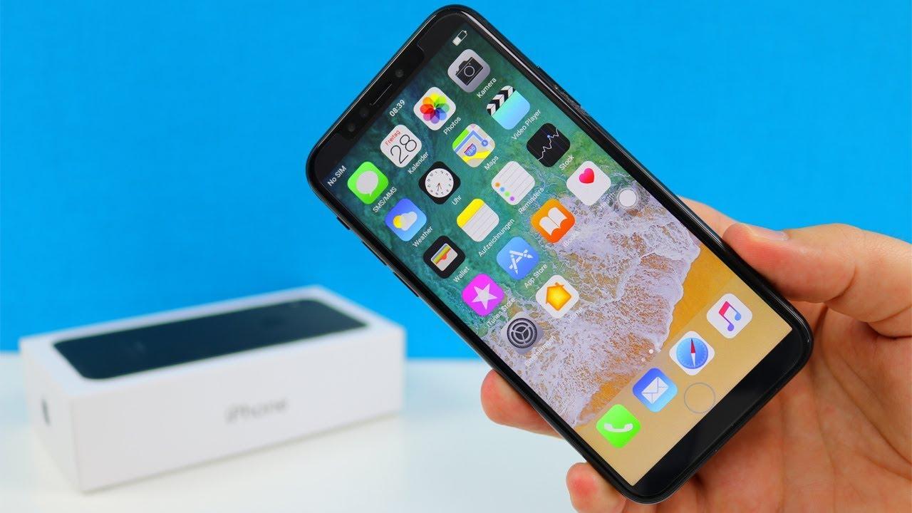 IPhone X Aus China Fur 100EUR Lohnt Es Sich Unboxing