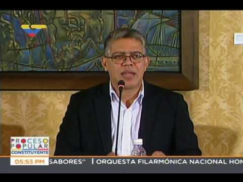 Elias Jaua: GNB y PNB tienen prohibido uso de perdigones plásticos en control de manifestaciones