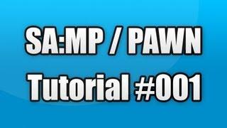 SA:MP / PAWN Tutorial #001 - Server & Client einrichten